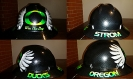 Oregon Ducks custom hard hat
