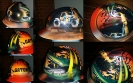 airbrushed alligator hard hat